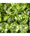Peridot naturel taille ronde a facettes 2 mm 0.04 carat