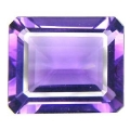 Amethyste hydrothermale taille emeraude