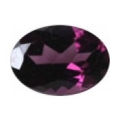 grenat rhodolite ovale a facettes 7x5 mm