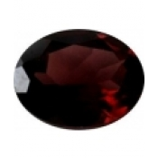 grenat rhodolite ovale a facettes 8x6 mm