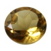 citrine or ronde 8 mm