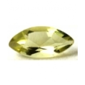 Citrine naturelle taille marquise a facettes 12x6 mm