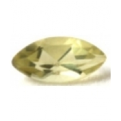 Citrine naturelle taille marquise a facettes 10x5 mm