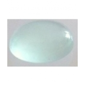 aigue marine ovale cabochon 8x6 mm p
