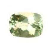 Prasiolite naturelle taille coussin 14x10 mm 6.50 carats