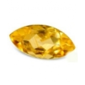 Citrine jaune or taille marquise 10x5 mm