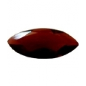 Grenat almandin taille marquise a facettes 15x7 mm  3.12 carats
