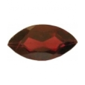 Grenat almandin taille marquise a facettes 12x6 mm  2.32 carats