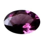 grenat rhodolite ovale a facettes 6x4 mm