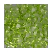 Peridot naturel taille ovale a facettes 5x3 mm 0.24 carat