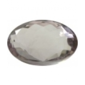 Enorme amethyste naturelle taille ovale a facettes 25.5x18 mm 37.86 carats