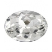 Topaze blanche taille ovale a facettes 20x15  mm 20.00  carats