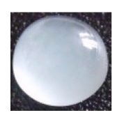 augue marine cabochon ronde 9 mm p.
