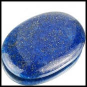 Lapis lazuli taille ovale cabochon 59x39x9 mm  224.00 carats