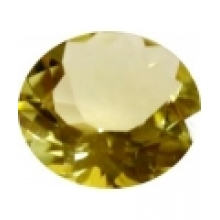 citrine lemon ronde 15 mm