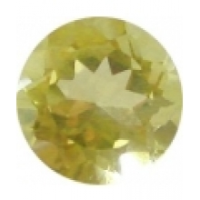 citrine lemon ronde 10 mm