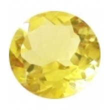 citrine lemon ronde 6 mm
