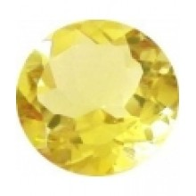citrine lemon ronde 7 mm p