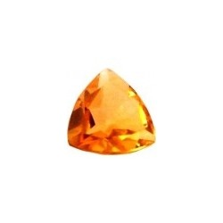 citrine jaune or trillion 5 mm