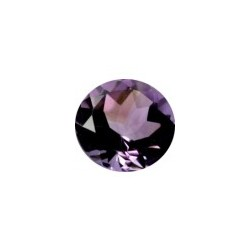 Amethyste bresil naturelle taille ronde a facettes 11 mm